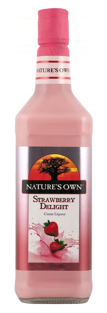 Nature's Own Strawberry Delight Cream Liqueur