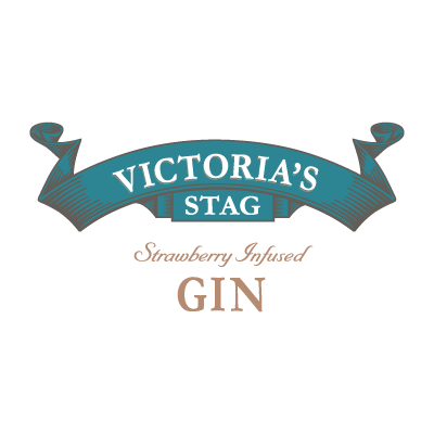Natures Own Victoria's Stag Strawberry Infused Gin